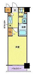グリフィン新横浜・参番館[10階]の間取り