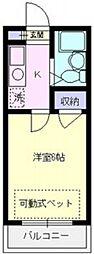 エマーユ川越東田町[105号室号室]の間取り