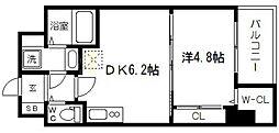 SEST新大阪[9階]の間取り