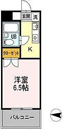 メゾン・ド・ドリーム横浜[2階]の間取り