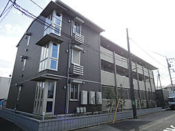 千葉県柏市松葉町2丁目の賃貸アパートの外観