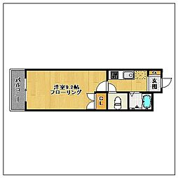 シャトル高取南[302号室]の間取り