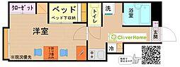 小田急小田原線 鶴川駅 徒歩26分の賃貸アパート 1階1Kの間取り