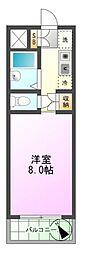 東京都八王子市元横山町1丁目の賃貸マンションの間取り