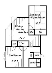 ガーデンヒル千葉寺[2階]の間取り