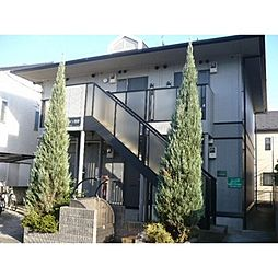 千葉県市川市菅野4の賃貸アパートの外観