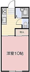 フラワーヴィラ[1階]の間取り