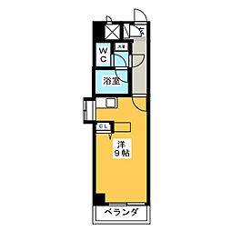 Lemur blanc(ミュールブラン)[4階]の間取り