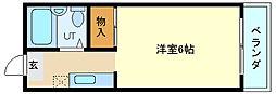 兵庫県神戸市垂水区千鳥が丘2丁目の賃貸マンションの間取り