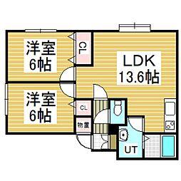 A's4117[1階]の間取り