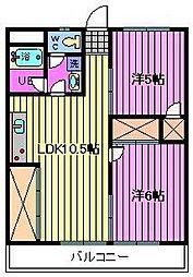渋谷コート2号館[3階]の間取り