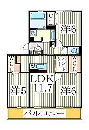 仮)D−roomセントラルパーク[1階]の間取り