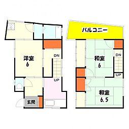 [一戸建] 東京都足立区西新井6丁目 の賃貸【/】の間取り