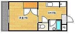 マンションA&R[303号室]の間取り