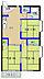 間取り,3DK,面積49.5m2,賃料4.5万円,JR常磐線 水戸駅 徒歩14分,,茨城県水戸市城東1丁目10番地