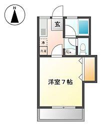 シャルム小金井[2階]の間取り