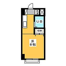 シャトレシンセイ[3階]の間取り