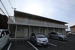 山梨県甲府市上曽根町の賃貸アパートの外観