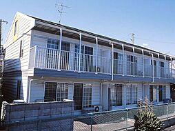 神奈川県藤沢市白旗2丁目の賃貸アパートの外観