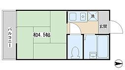 洗足駅 4.9万円