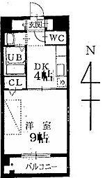 マルシェ小島[1階]の間取り