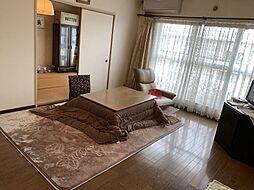 リビング横に和室のあるタイプの間取りで、リビングと和室を合わせたら約16帖の空間