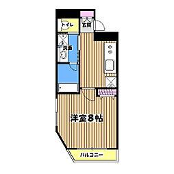 レジス立川高松町[6階]の間取り