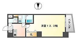 ヴィレッタEBISU東[3階]の間取り