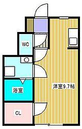 グリーンソレアード[2階]の間取り
