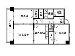 福岡県北九州市小倉南区守恒本町1丁目の賃貸マンションの外観