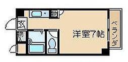 トレンディア松原[410号室]の間取り