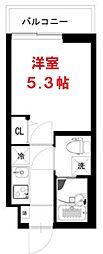 インベスト大森37(Invest Omori 37)[1階]の間取り