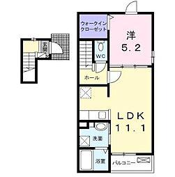 Residence 城東[2階]の間取り