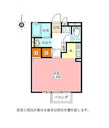ヴァルムハウス[1階]の間取り