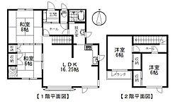 JR根室本線 帯広駅 バス35分 西25条2丁目下車 徒歩5分 4LDKの間取り