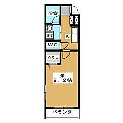 EASE京都室町[4階]の間取り