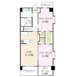 今宿西新築マンション[2階]の間取り