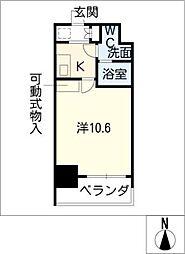 プライムアーバン栄[8階]の間取り