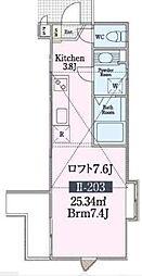 ガーデンレジデンスII[2階]の間取り