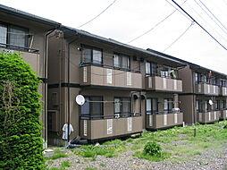 長野県塩尻市大字大門の賃貸アパートの外観