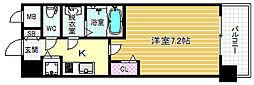 メインステージ大阪福島[2階]の間取り