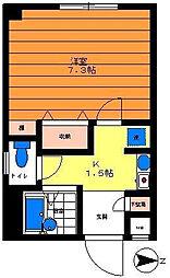 テラス桜川[3階]の間取り