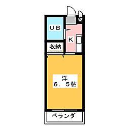ジョイフル藤ヶ丘[1階]の間取り