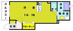 サンヴェリエ2[1階]の間取り