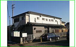 東京都日野市西平山5丁目の賃貸アパートの外観