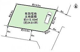 建物面積/115.10m2
