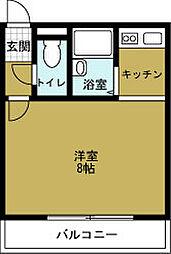 COSMO蓮井[6階]の間取り