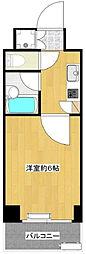 神奈川県川崎市高津区溝口6丁目の賃貸マンションの間取り