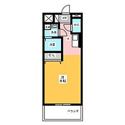 仮)サン・名駅太閤ビル[6階]の間取り