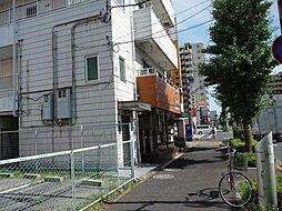 東京都足立区栗原4丁目の賃貸マンションの外観